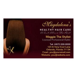 Nomeação do afro-americano do estilista do cartão de visita