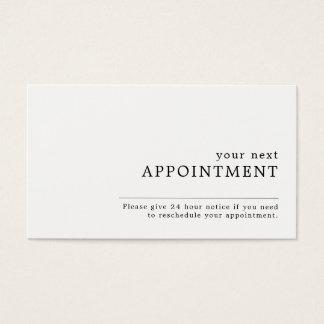 Nomeação do design simples cartão de visitas