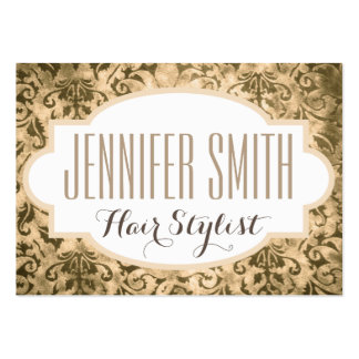 Nomeação do salão de beleza do cabeleireiro do cartão de visita grande