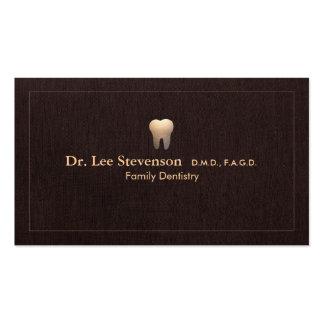 Nomeação elegante do escritório do logotipo do cartão de visita