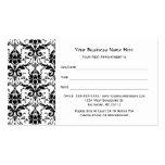Nomeação preta elegante do salão de beleza da cor  modelo cartao de visita
