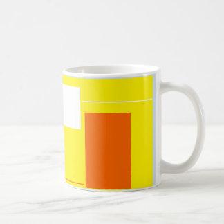 Nomeie a caneca de café da atividade das formas