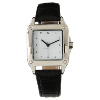 Nomeie seu quadrado perfeito relógio