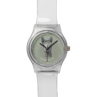 Nomeie seu relógio da alpaca