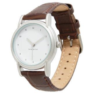 Nomeie seu relógio de senhoras Brown