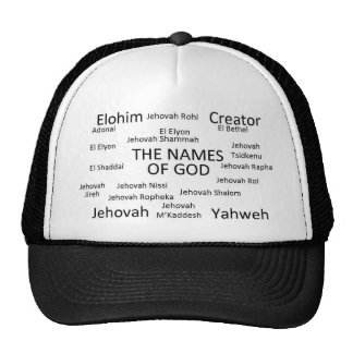 Nomes do deus boné
