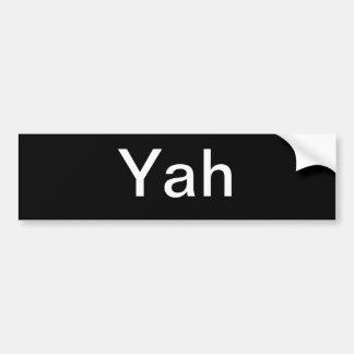 Nomes hebreus do deus adesivo para carro