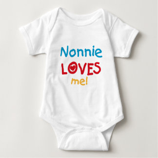 Nonnie ama-me camiseta e presentes