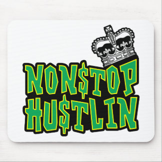 Nonstop logotipo de Hustlin Mouse Pad