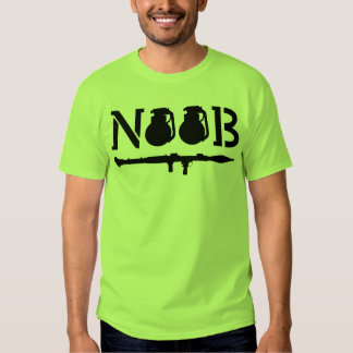 Noob - o t-shirt dos homens