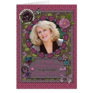 Nora, um cartão do dia das mães da foto
