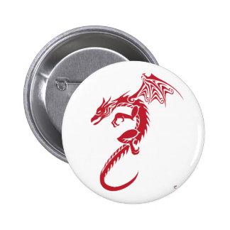 Norbert o dragão vermelho boton
