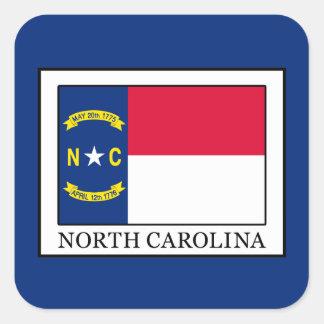 North Carolina Adesivo Quadrado