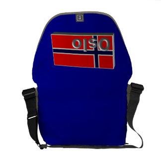 Noruega 3D+H Bolsa Mensageiro