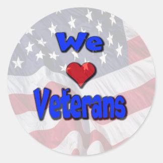 """""""Nós amamos etiquetas dos veteranos"""""""