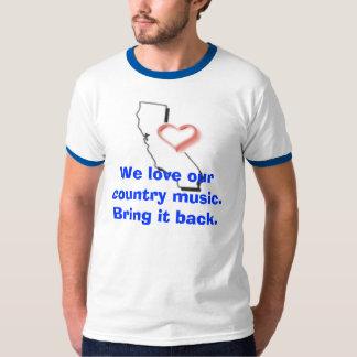 Nós amamos nossa música country. Br… T-shirt
