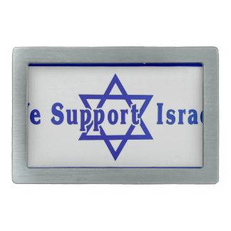 Nós apoiamos Israel