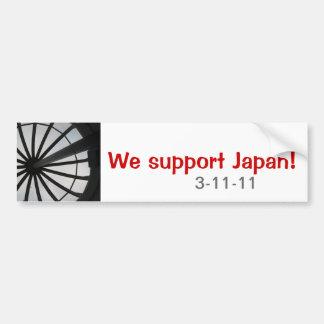 Nós apoiamos Japão Adesivo Para Carro