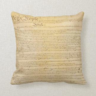 Nós as pessoas do travesseiro da constituição almofada