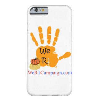 Nós capa de telefone da mão de R1 o Dia das Bruxas