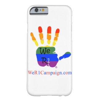 Nós capa de telefone da mão do arco-íris R1