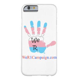 Nós capa de telefone da mão do Transgender R1