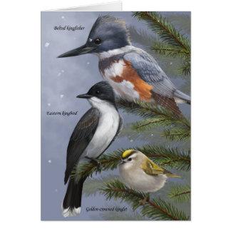 """""""Nós cartão do pássaro de três reis"""" feriado"""