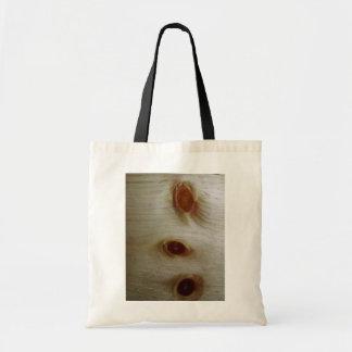 Nós de madeira bolsas