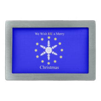 Nós desejamos a UE o Feliz Natal