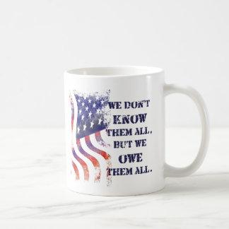 Nós devemos-lhes a caneca do dia de veteranos