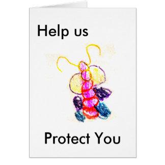 """""""Nós estamos com você Caterpillar"""", """"jGibney O Cartão Comemorativo"""