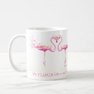 Nós flamingo tão bem junto! Caneca