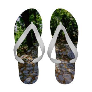 Nos flip-flops da estrada