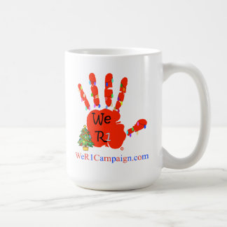 Nós (mão do Natal) caneca R1