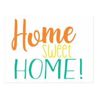 Nós movemos a casa doce Home simples do cartão |