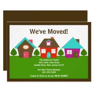 Nós movemos anúncio movente do endereço novo