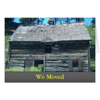 Nós movemos o cartão