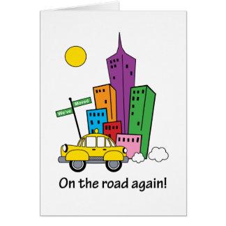 Nós movemos o cartão da arquitectura da cidade -