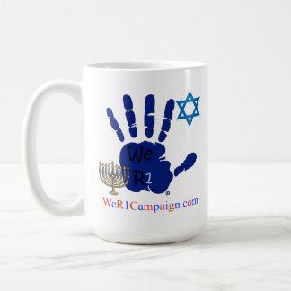 Nós o amor R1 ganhamos (a caneca do duro judaico)