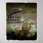 Nós o poster de Sheeple