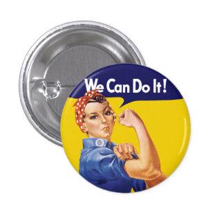 Nós podemos fazê-lo! Rosie o rebitador Bóton Redondo 2.54cm