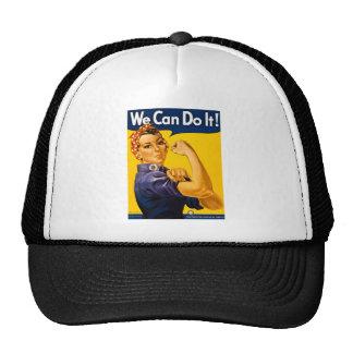 Nós podemos fazê-lo! Rosie o vintage WW2 do rebita Boné