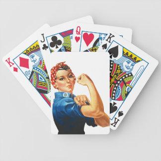 Nós podemos fazê-lo Rosie que as mulheres do Baralho Para Pôquer