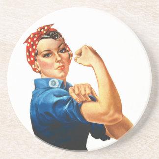 Nós podemos fazê-lo Rosie que as mulheres do Porta Copos De Arenito