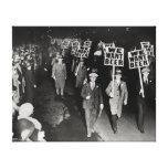 Nós queremos a cerveja! Proibição Protesto, 1931 Impressão Em Tela Canvas