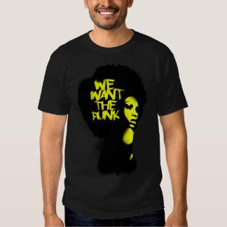 nós queremos o funk tshirt