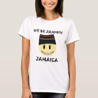 Nós sejamos Jammin Jamaica Camiseta