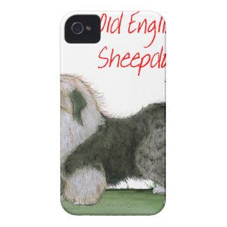 nós sheepdogs ingleses velhos do luv, Tony Capas Para iPhone 4 Case-Mate