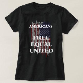 Nós somos americanos camiseta