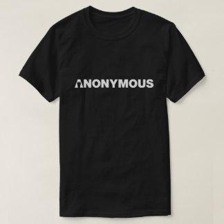 - Nós somos anónimos - camisa anónima dos meninos